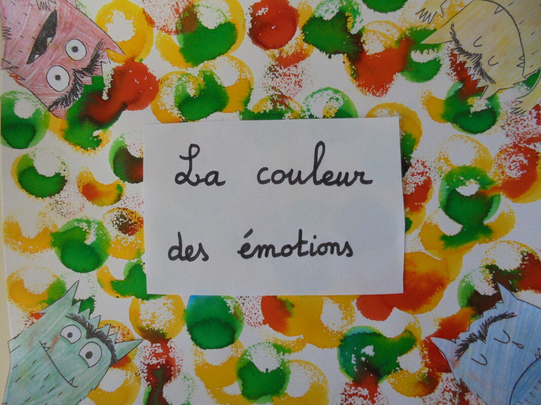 La Couleur Des Emotions La Classe De Madame Kitine